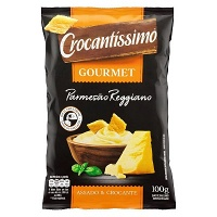 Salgadinho Crocantíssimo Gourmet parmesão Reggiano 100g