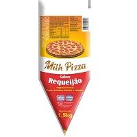 Cobertura cremosa sabor requeijão Milk Pizza bisnaga 1,5kg