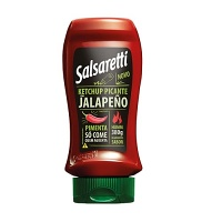 Ketchup picante Salsaretti Jalapeño 380g