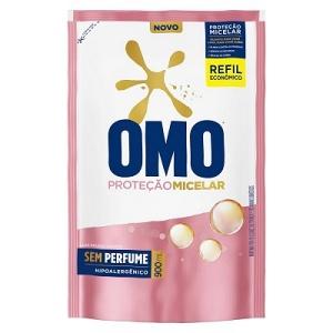 Lava roupas líquido Omo Proteção Micelar refil 900ml