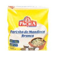 Farinha de mandioca branca Pachá 500g