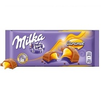 Chocolate Milka caramel 100g