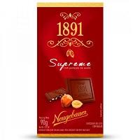 Chocolate ao leite com avelã Supreme 1891 Neugebauer 90g