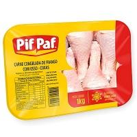 Coxa de frango congelada Pif Paf bandeja 1kg