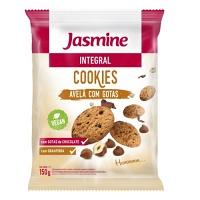 Cookies integrais avelã com gotas de chocolate Jasmine 150g