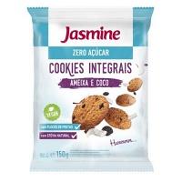 Cookies integrais zero açúcar ameixa e coco Jasmine 150g