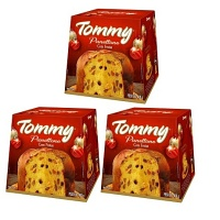 Kit Panettone Tommy tradicional 400g (3 unid.)