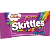 Bala confeito Skittles frutas silvestres 38g