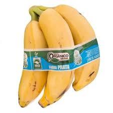 Banana prata orgânica 600g