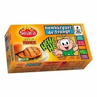 Hambúrguer de frango Turma da Mônica Seara 672g