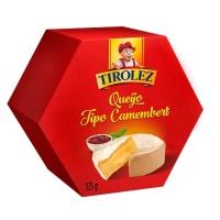 Queijo tipo Camembert Tirolez 125g