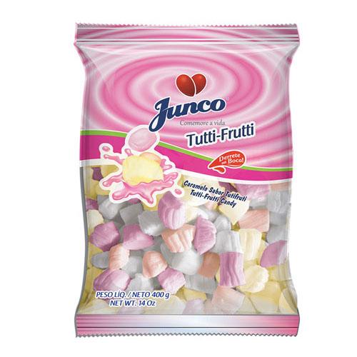 Balas de coco sabor tutti frutti Junco 700g