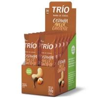 Barra de cereais castanha avelã chocolate Trio (12 unidades)