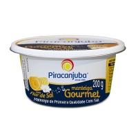 Manteiga com flor de sal Gourmet Piracanjuba 200g