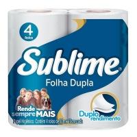 Papel higienico folha dupla Sublime 4x1