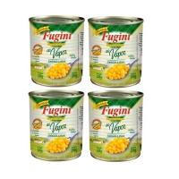 Milho verde em conserva Fugini 200g (pack c/ 4 unid.)
