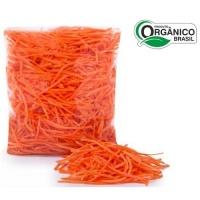 Cenoura orgânica higienizada em tiras 150g