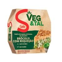 Torta integral de iogurte brócolis com requeijão Veg & Tal Sadia 500g