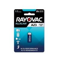 Pilha p/ controle de portão alcalina 12V Rayovac V23GA
