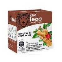 Chá gengibre e especiarias Leão 16g
