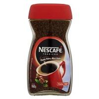 Café solúvel Nescafé forte tradição 100g.