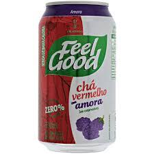 Chá vermelho com amora Feel Good lata 330ml