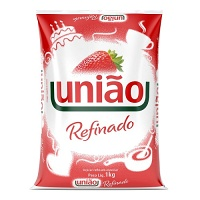 Açúcar refinado União 1kg.