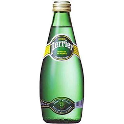 Água mineral com gás Perrier 330ml.