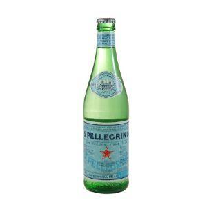 Agua mineral gaseificada San Pellegrino 500ml.