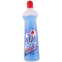 Limpa vidros Veja Vidrex tradicional com álcool squeeze 500ml
