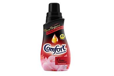Amaciante concentrado Comfort Romance 500ml.