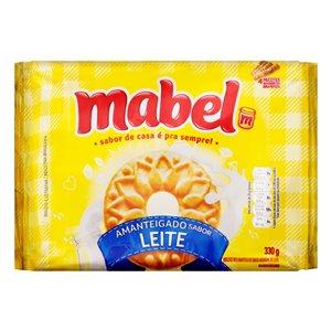 Amanteigado de leite Mabel  330g.