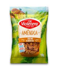 Amêndoas s/ casca La Violetera 100g