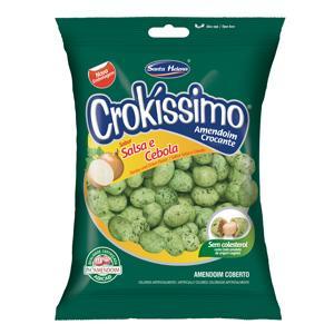 Amendoim Crokíssimo levemente salgado Santa Helena 1kg