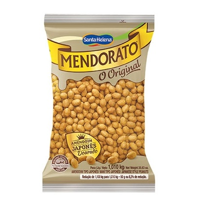 Amendoim japones Mendorato Santa Helena 1,01kg.