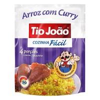 Arroz parboilizado com curry Tio João Cozinha Fácil 250g