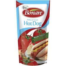 Molho de tomate para hot dog Bonare 340g