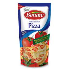 Molho de tomate para pizza Bonare 340g.
