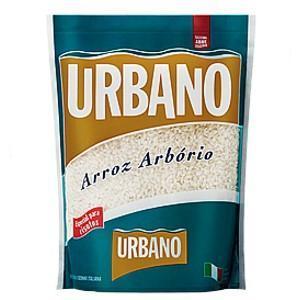 Arroz arbório especial para risoto Urbano 1kg.