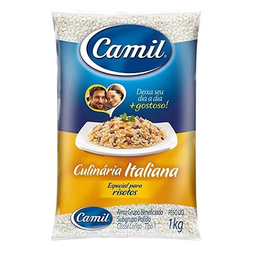 Arroz Camil culinária italiana 1kg.