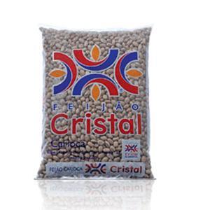 Feijão carioca Cristal 1kg.
