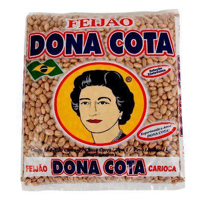 Feijão carioca Dona Cota 1kg.