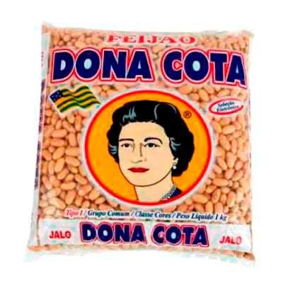 Feijão jalo Dona Cota 1kg.