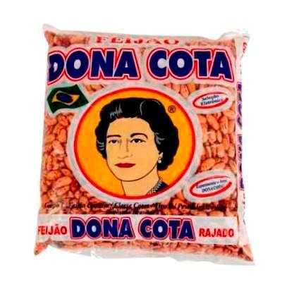 Feijão rajado Dona Cota 1kg.