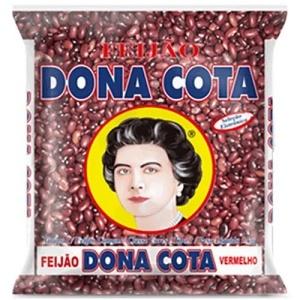 Feijão vermelho (roxo)  Dona Cota 1kg.