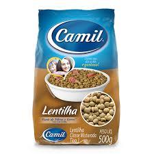 Lentilha Camil 500g.