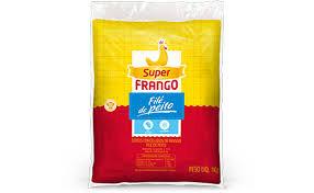 Filé de peito de frango Super Frango 1kg