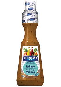 Molho para salada Italiano Hellmanns 475ml.