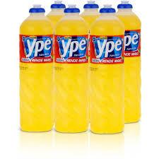Detergente liquido neutro Ypê 500ml. (pacote c/ 6 unidades)